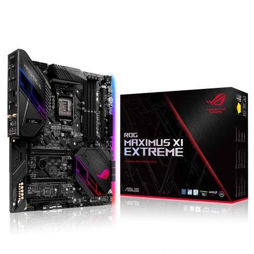 Tarjeta Madre ASUS ATX-E Rog Maximus XI Extreme, S-1151, Intel Z390, HDMI, 64GB DDR4 para Intel ― Compatibles solo con 8va & 9va Generación