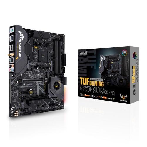 Tarjeta Madre Asus ATX TUF Gaming X570-Plus (WI-FI), S-AM4, AMD X570, HDMI, 128GB DDR4 para AMD Ryzen — Requiere Actualización de BIOS para la Serie Ryzen 5000