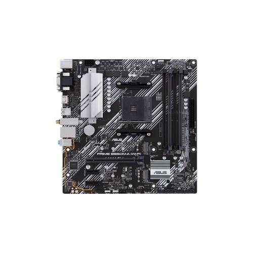 Tarjeta Madre ASUS Micro ATX PRIME B550M-A (WI-FI), S-AM4, AMD B550, HDMI, 128GB DDR4 para AMD