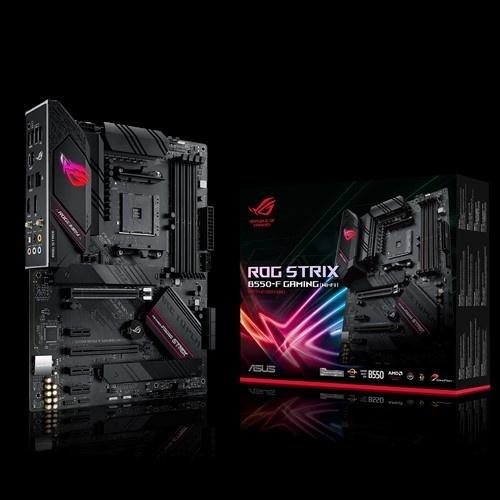 Tarjeta Madre ASUS ATX ROG STRIX B550-F GAMING WI-FI, S-AM4, AMD B550, HDMI, max. 128GB DDR4 para AMD