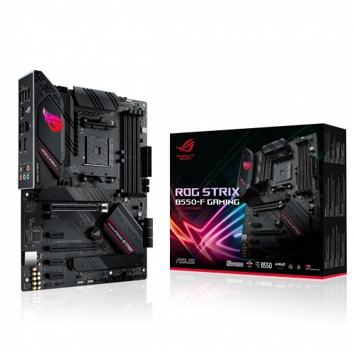 Tarjeta Madre ASUS ATX ROG STRIX B550-F GAMING, S-AM4, AMD B550, HDMI, 128GB DDR4 para AMD
