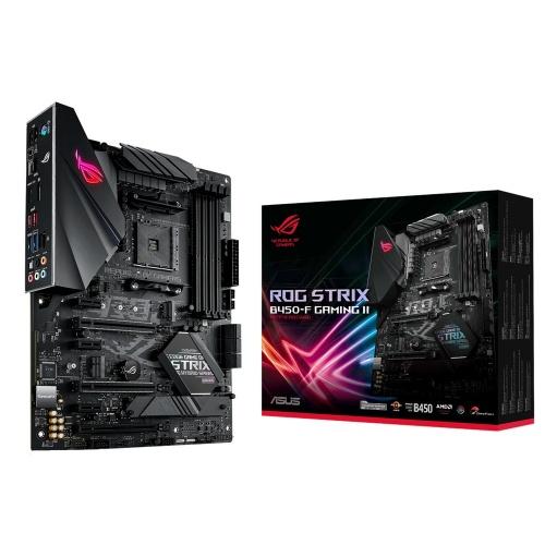 Tarjeta Madre ASUS ATX ROG STRIX B450-F GAMING II, AM4, AMD B450, HDMI, 128GB DDR4 para AMD ― Requiere Actualización de BIOS para Ryzen Serie 5000