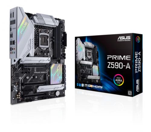 Tarjeta Madre ASUS ATX PRIME Z590-A, S-1200, Intel Z590, HDMI, 128GB DDR4 para Intel