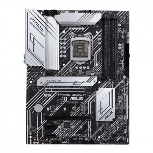 Tarjeta Madre ASUS ATX PRIME Z590-P, S-1200, Intel Z590, HDMI, 128GB DDR4 para Intel