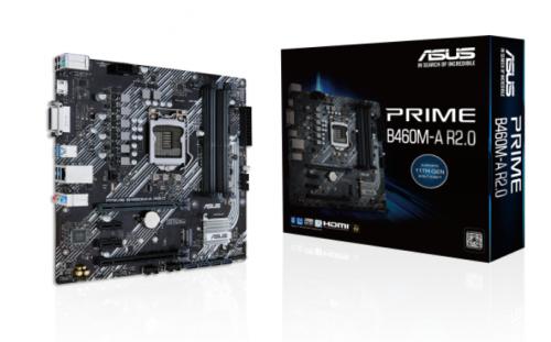 Tarjeta Madre ASUS Micro ATX PRIME B460M-A R2.0, S-1200, Intel H470, HDMI, 128GB DDR4 para Intel