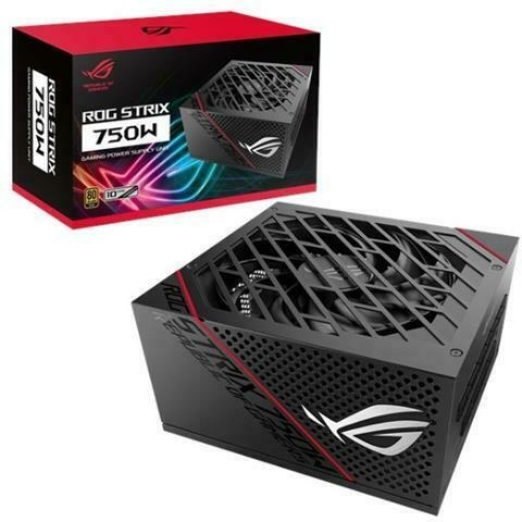 Fuente de Poder ASUS ROG Strix 750W 80 PLUS Gold, 20+4 pin ATX, 150mm, 750W