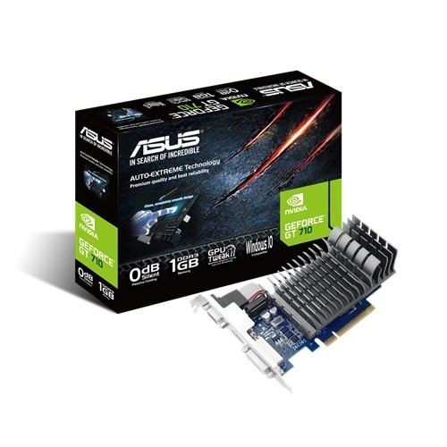 Tarjeta de Video ASUS NVIDIA GeForce GT 710, 1GB 64-bit DDR3, PCI Express 2.0