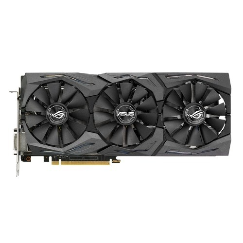 Tarjeta de Video ASUS NVIDIA GeForce GTX 1080 ROG STRIX Gaming, 8GB 256-bit GDDR5X, PCI Express 3.0
