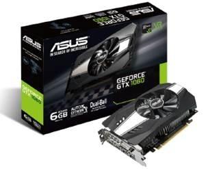 Tarjeta de Video ASUS NVIDIA GeForce GTX 1060, 6GB 192-bit GDDR5, PCI Express 3.0
