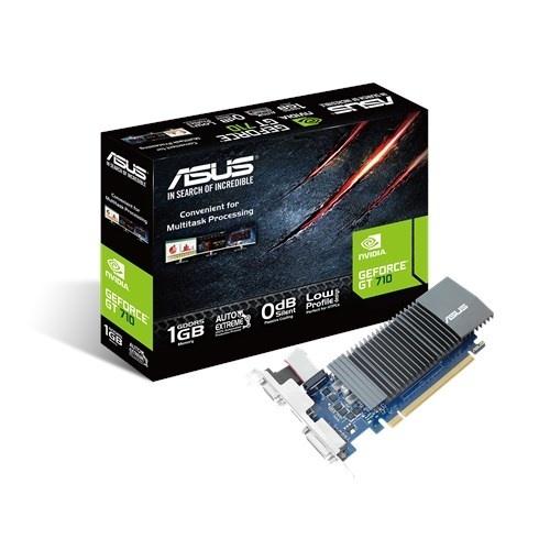 Tarjeta de Video ASUS NVIDIA GeForce GT 710, 1GB 32-bit GDDR5, PCI Express 2.0