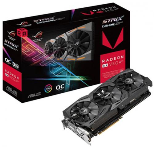 Tarjeta de Video ASUS AMD Radeon RX Vega 64 ROG Strix Gaming OC, 8GB 2048 bit HBM2, PCI Express 3.0 ― ¡Compra y recibe Assassin's Creed Odyssey, Strange Brigade & Star Control!