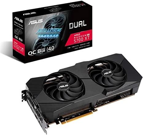 Tarjeta de Video ASUS AMD Radeon RX 5700 XT Dual EVO OC, 8 GB 256-bit GDDR6, PCI Express 4.0