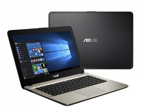 Laptop ASUS A441UA-WX295T 14'' HD, Intel Core i3-6006U 2GHz, 4GB, 1TB, Windows 10 Home, Negro/Chocolate