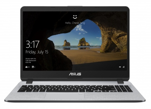 "Laptop ASUS VivoBook A507UA 15.6"" HD, Intel Core i5-8250U 1.60GHz, 8GB, 1TB, Windows 10 Pro 64-bit, Gris ― ¡Compra y recibe un código para Starbucks con valor de $300 pesos!"