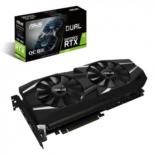 Tarjeta de Video ASUS NVIDIA GeForce RTX 2080 Dual OC, 8GB 256-bit GDDR6, PCI Express 3.0 ― ¡Compra y recibe Battlefield V & Anthem!