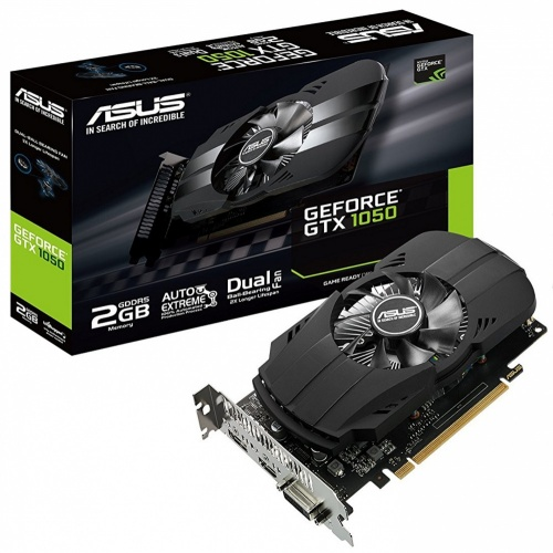 Tarjeta de Video Asus NVIDIA GeForce GTX 1050 Phoenix, 2GB 128-bit GDDR5, PCI Express 3.0