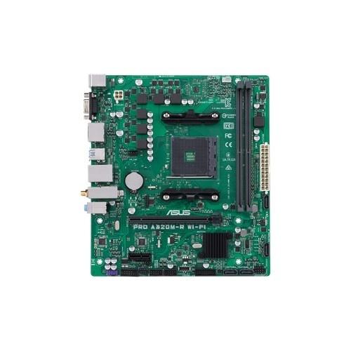 Tarjeta Madre ASUS micro ATX Pro A320M-R WI-FI, S-AM4, AMD A320, HDMI, 32GB DDR4 para AMD