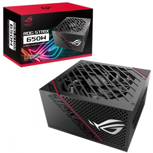 Fuente de Poder ASUS ROG-STRIX-650G 80 PLUS Gold, 20+4 pin ATX, 135mm, 650W