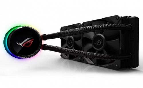 ASUS ROG RYUO 240 Enfriamiento Liquido para CPU, 2x 120mm, 800 - 2500RPM