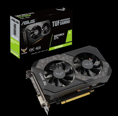 Tarjeta de Video ASUS NVIDIA GeForce GTX 1650 SUPER TUF Gaming OC, 4GB 128-bit GDDR6, PCI Express x16 3.0 ― ¡Compra y recibe Shadow of the Tomb Raider! Un código por cliente