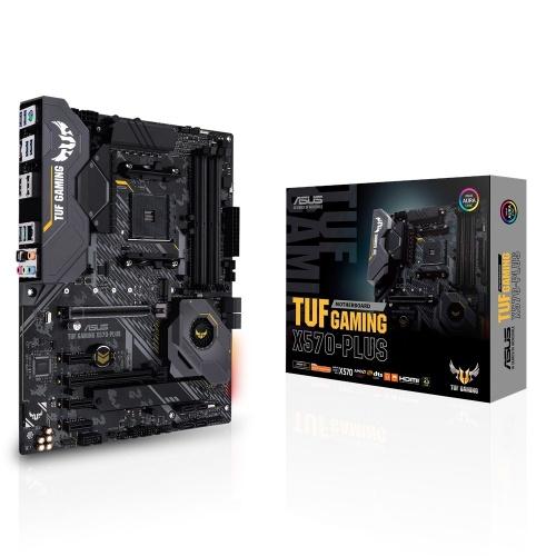 Tarjeta Madre ASUS ATX TUF Gaming X570-Plus, S-AM4, AMD X570, HDMI, 128GB DDR4 para AMD Ryzen