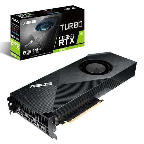 Tarjeta de Video ASUS NVIDIA GeForce RTX 2080 Turbo Gaming, 8GB 256-bit GDDR6, PCI Express 3.0