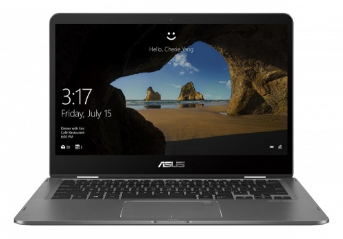 Laptop Asus ZenBook Flip 14'' Full HD, Intel Core i5-8250U 1.60GHz, 8GB, 256GB, Windows 10 Home 64-bit, Gris
