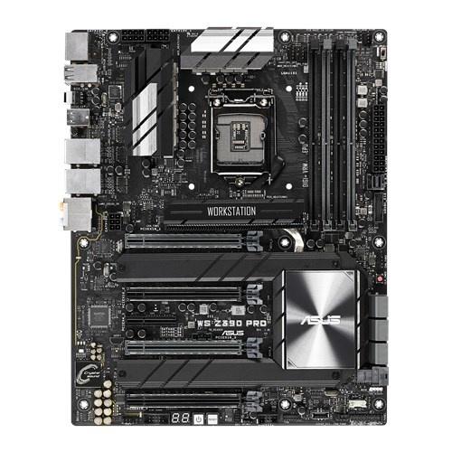 Tarjeta Madre ASUS ATX WS Z390 PRO, S-1151, Intel Z390, HDMI, 64GB DDR4 para Intel ― Compatibles solo con 8va & 9va Generación