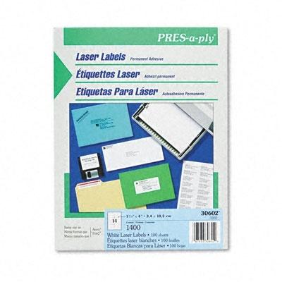 Q Productos Etiqueta para Láser 30602, 1400 Etiquetas