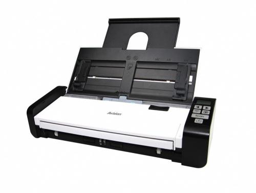 Scanner Avision AD215, 600 x 600 DPI, Escáner Color, Escaneado Dúplex, USB 2.0, Negro/Blanco