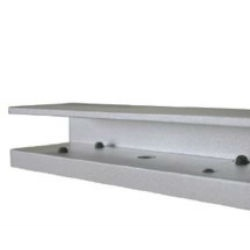 Axceze Chapa Magnética Tipo U AL-180PU para Brackets, 140 x 30 x 40mm