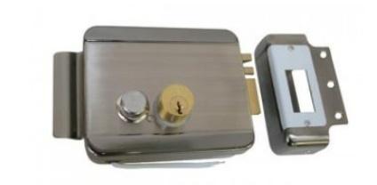 Axceze Cerradura Electromecanica AX-LOCKR, 12V, Acero