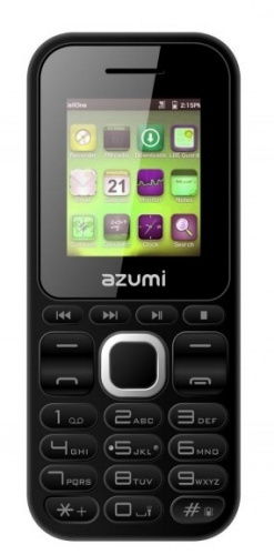 "Celular Azumi L2 Z 1.7"", Bluetooth, Negro"