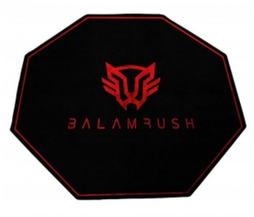 Mousepad Balam Rush ULTIMATE, 12 x 12cm, Grosor 5mm, Negro/Rojo