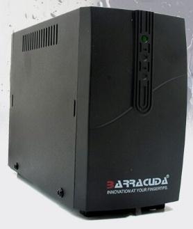 Regulador Barracuda AVR-1300, 700W, 1300VA, Entrada 120-140V, 4 Contactos