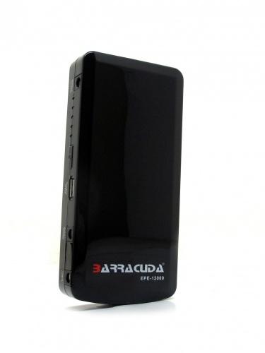 Cargador Portátil Barracuda EPE-12000, 12.000mAh, Negro