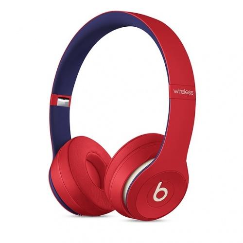 Beats by Dr. Dre Audífonos Beats Solo 3, Inalámbrico, Bluetooth, Rojo