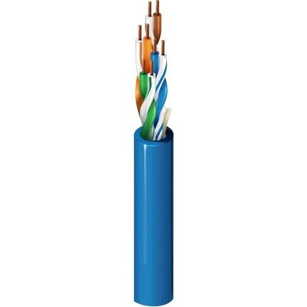 Belden Bobina de Cable Cat5 UTP de 4 Pares 1624R, 305 Metros, Azul