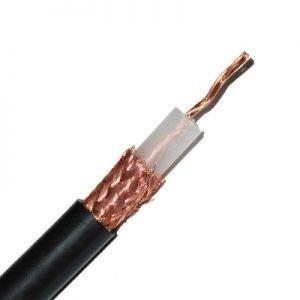 Belden Bobina de Cable Coaxial, 305 Metros, Negro