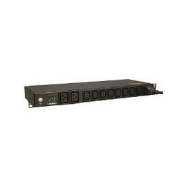 Belden PDU para Rack 1U, 120v, 6x NEMA L5-15P, Negro