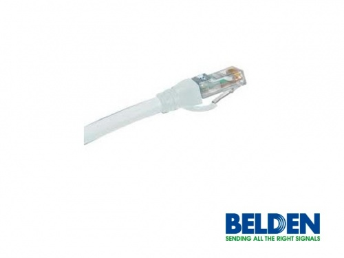 Belden Cable Patch 10GX Cat6a RJ-45 Macho, 3 Metros, Blanco