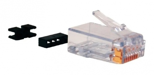 Belden Conector Cat6 RJ-45, Transparente, 25 Piezas