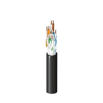 Belden Bobina de Cable Cat6a UTP, 304.8m, Negro