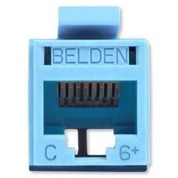 Belden Conector RJ-45 Cat6, Azul