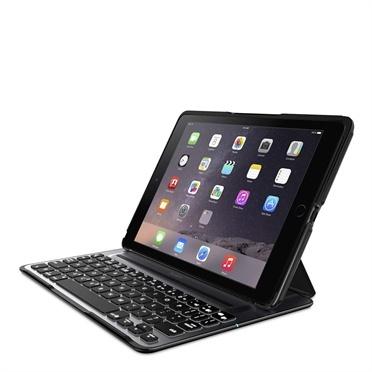 Belkin Funda con Teclado iPad Air 2, Negro