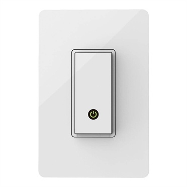 Belkin Interruptor de Luz WeMo Light F7C030FC, WiFi, Blanco, para IOS/Android