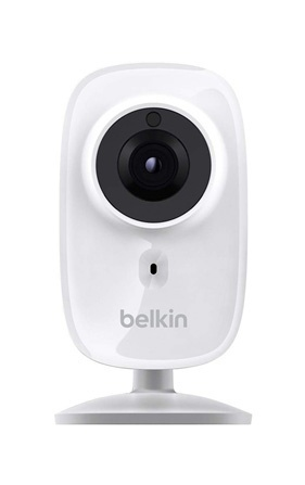 Belkin Cámara Smart WiFi Cubo IR para Interiores F7D7606, Inalámbrico, 1280 x 720 Pixeles, Día/Noche