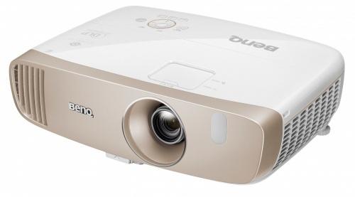 Proyector BenQ W2000 Home Cinema DLP, 1080p, 2000 Lúmenes, 3D, con Bocinas, Oro