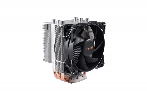 Disipador CPU be quiet! Pure Rock Slim, 92mm, 2000RPM, Negro/Plata