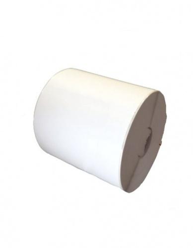 Bestval Rollo de Etiquetas 1000118, 102 x 25mm, 2 x 320 Etiquetas, Blanco